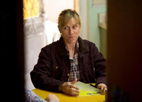 Frances McDormand as a natural gas company rep seeking leases for deep-shale drilling.